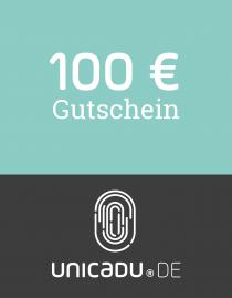 unicadu® Wertgutschein 100 Euro für einzigartige Produkte