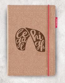 Echtleder-Notizbuch RED RUBBER »Legal High« | A5 – personalisierbar