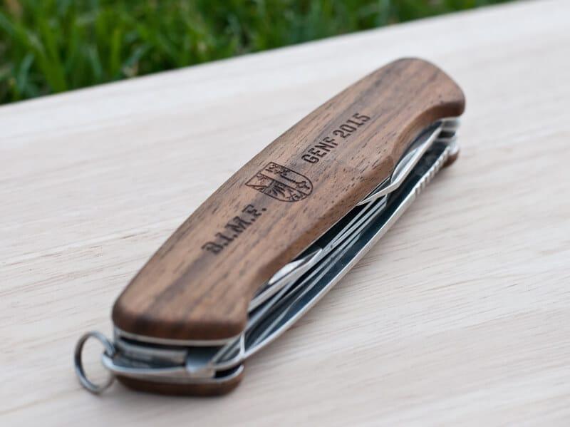 personalisiertes Taschenmesser Ranger