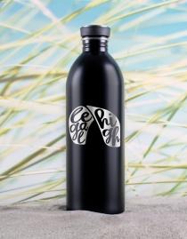 Edelstahl-Trinkflasche »Legal High« – personalisierbar