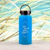 Edelstahl-Thermosflasche »Eat, Sleep, Surf, Repeat« – personalisierbar