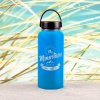 Edelstahl-Thermosflasche »The Mountains Are Calling And I Must Go« – personalisierbar